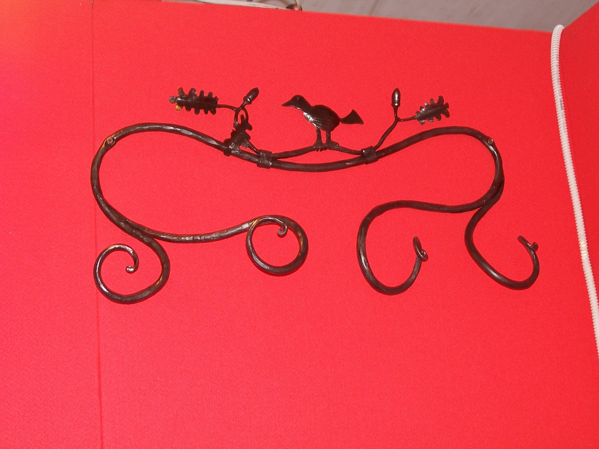 Porta abiti in ferro battuto stile floreale www - Porta abiti design ...